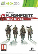 OPERATION FLASHPOINT RED RIVER for Xbox 360 - with box &manual - PAL