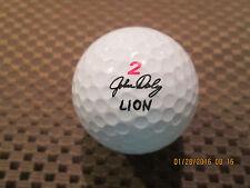 LOGO GOLF BALL-JOHN DALY SIGNATURE BALL #2 LION ROARING DISTANCE......OLDER...