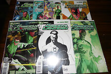 Green Lantern #1,2,3,4,5,6,8 Rare Variants New 52 Set Capullo sketch