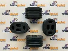 Exhaust Rubber Mounts x4 for Land Rover Discovery 2 TD5  - NTC3650 ESR3172