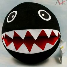 SUPER MARIO BROS. CATEGNACCIO PELUCHE - 20Cm. - Plush Nintendo Peach Chain Chomp