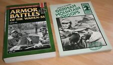 ARMOUR BATTLES OF THE WAFFEN-SS Will Fey & German Mountain TROOPS Gebirgsjager
