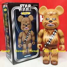 Medicom 2016 Be@rbrick Star Wars 400% Han Solo mate Chewbacca Bearbrick
