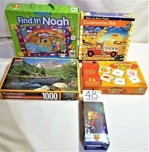 LOT OF JIGSAW PUZZLES