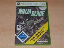 Ninja Blade Xbox 360 Rare Promotional Full Game PAL Promo **FREE UK POSTAGE**