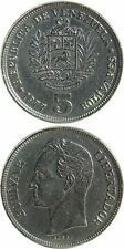 VENEZUELA 5 Bolivares 1977 VF (Y# 53.1)