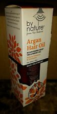 NIB by nature from New Zealand ARGAN HAIR OIL Nourishing Deep Treatment Oil 3 Oz
