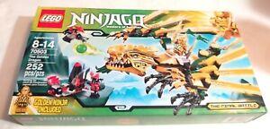 LEGO 70503 Ninjago The Golden Dragon (Brand New & Sealed)