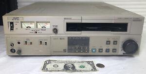 JVC Model BR-S500U  Super VCR Player Editing  Deck