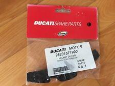 original Ducati Suomy Helm Ersatzteil Nasenschutz Nose Protect schwarz Casco NEU