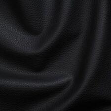 Kunstleder Lederimitat Polsterstoff Meterware Bezugsstoff geprüft  schwarz