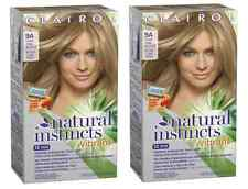 Clairol Natural Instincts Vibrant Hair Color, Light Cool Blonde #9A (2 Pack)