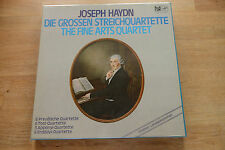 HAYDN THE FINE ARTS QUARTET Die Grossen Streichquartette 9 LP box SEALED FSM 105