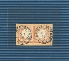 Pr Vor / HABELSCHWERDT 6.1.75, 2 K2 auf Pracht-Briefstück m. Paar DR 18