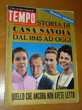 TEMPO 1967/46=SPECIALE SAVOIA=GIANNI MILANO=FRANCIS CHICHESTER=ROBERTO CRIPPA=