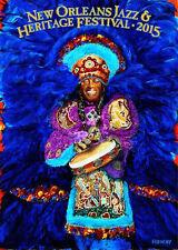 2015 Jazz Fest Poster - New Orleans Jazz Festival