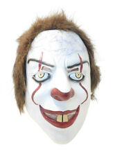 PENNYWISE STEPHEN KING'S IT SCARY CLOWN MASK HORROR MOVIE FANCY DRESS