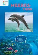 Meerestiere von Jörg Drews. Hübsch illustriertes Kinderbuch - mit Wackelkarten