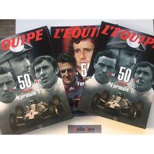 L'Equipe 50 ans de Formule 1 1950 1999 coffret 2 tomes