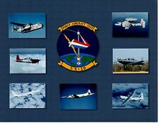 Force Aircraft Test VX20 Navy Aircraft Photograph 8.5x11 Color Insignia