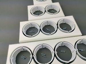 Steckdoseneinsatz, Verlängerung für Lichtschalter und Steckdosen 1 bis 4 Dosen