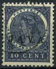 Netherlands Indies 1908 SG#149, 10c Optd With Java Used #E12171