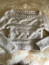 guess knitted sweater, ivory, sz s
