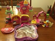 My Little Pony Ferris Wheel, Movie Theatre, Minty Christmas, Shopping Day, Barn