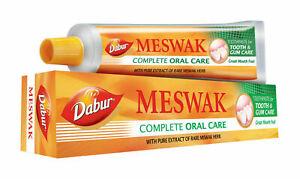 Dabur Meswak Dental Pasta 200g Aryuvédico Extracto De Miswak