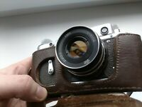 Zorki 2-C Vintage 1959 Soviet Rangefinder Camera with Industar 61 L/D