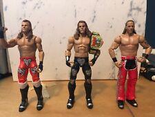 WWE Shawn Michaels Mattel Basic Elite Lot Action Figures Flashback DX Heartbreak