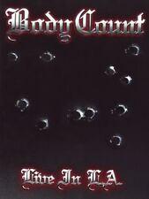 BODY COUNT - LIVE IN L.A.  DVD + CD NEW!