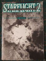 RARE Starflight 2 Trade Routes Of The Cloud Nebula Clue Book, great find?