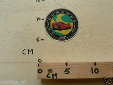 STICKER,DECAL SIMCA ENDURANCE ? VINTAGE FROM THE 60'S SNELHEIDSMETER