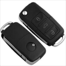 3 Botones Carcasa Llave Mando de Vehiculos para VW/Golf/Polo/Bora T5
