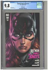 Batman Three Jokers #2 CGC 9.8 Variant Cover A Batgirl Edition Fabok Johns