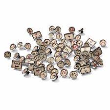 Typewriter Vintage Antique Style Key Caps - Parchment Alchemy - Cherry MX