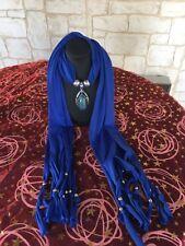 Superbe écharpe bijoux... un accessoire qui vous rendra originale !!!!