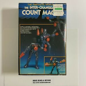 Hourtoy Takara Micronauts The Inter-Changeables Count Magno MIB New Unused