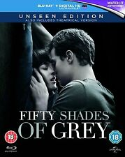 FIFTY SHADES OF GREY Unseen UK Edition [Blu-ray Disc] Extended/Alternate End 50