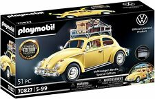 Playmobil 70827 Volkswagen Beetle, Yellow Family Car, Special Ed