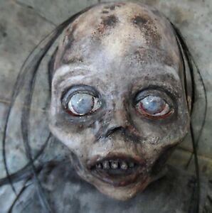 OOAK Halloween Horror Creepy TWD Walker Zombie Doll