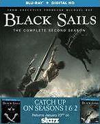 BLACK SAILS: SEASON 1 & 2 - BLU RAY - Region A - Sealed