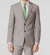 $605 Calvin Klein Mens Extreme Slim Fit Wool Blazer Gray Jacket Sport Coat 46L