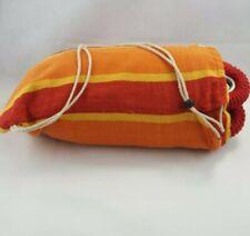 Hammock in a bag Orange Red Yellow  includes Hanging Hardware Indoor/Outdoor(B2)