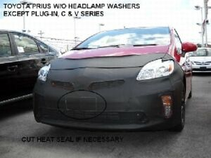 Lebra Front End Mask Cover Bra Fits Toyota Prius w/o headlamp washer 2012-2015