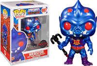 Webstor METALLIC MOTU Funko Pop Vinyl New in Box
