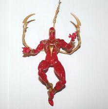 (Marvel Legends)Spider-Man Origins Iron Spider Metallic Suit Action Figure (6in)
