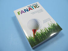 "Golf Book ""The Golf Fanatic"" Paperback BOOK By Robert McCord - 504 Pages *NEW*"