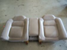2001 Acura CL TYPE S tan leather rear seat